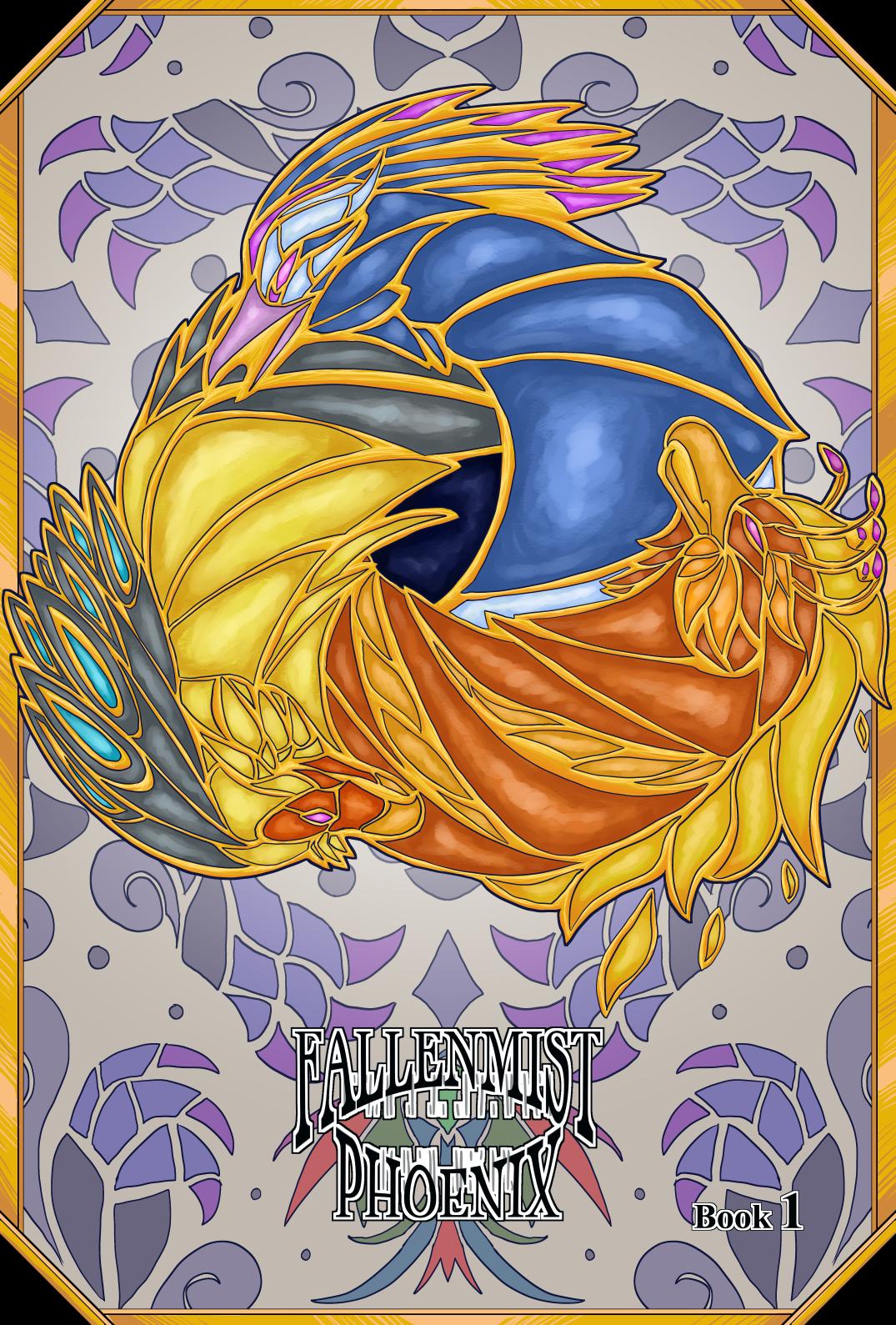 Fallenmist Phoenix – Book 1 (cover)